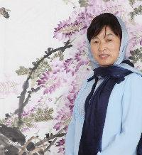 中国甘肃著名书画家马海燕